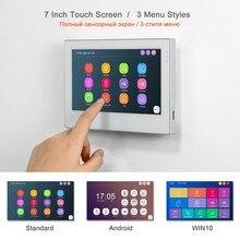 TUYA domofon WIFI wideodomofon s dla domu bezprzewodowe dzwonki wideodomofon Monitor z ekranem dotykowym 1080P dzwonek