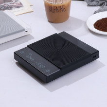 Escala digital da escala do café derrama a escala eletrônica do café do gotejamento com temporizador 2kg