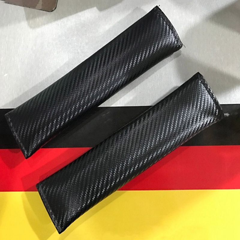 Auto Seat Belt Cover Carbon Fiber Car-Styling Case For <font><b>Mercedes</b></font> Benz C63 E39 E60 S Classe W203 W202 <font><b>W208</b></font> Car <font><b>Accessories</b></font> image