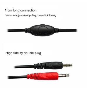 Image 5 - 3.5mm kablolu bilgisayar oyun Stereo kulaklıklar oyun kulaklık kulaklık PC için Mic ile Skype MSN PS4 Play Station 4