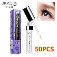 50PCS Nourishing Growth Eyelashes Liquid Rapid Lash Growth Essence Lengthening Curl and thicken Treatment Eye Lash Serum