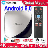 X88 Pro Smart TV décodeur Android 9.0 TV Box RK3318 double Wifi 4K 60fps USB3.0 Google Play Store Netflix Youtube pk A95x R3