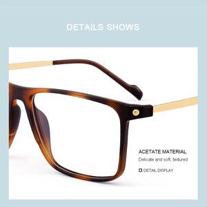 Image 3 - MERRYS تصميم الرجال الفاخرة TR90 إطار نظارات الرجال Vintage قصر النظر وصفة طبية النظارات S2817