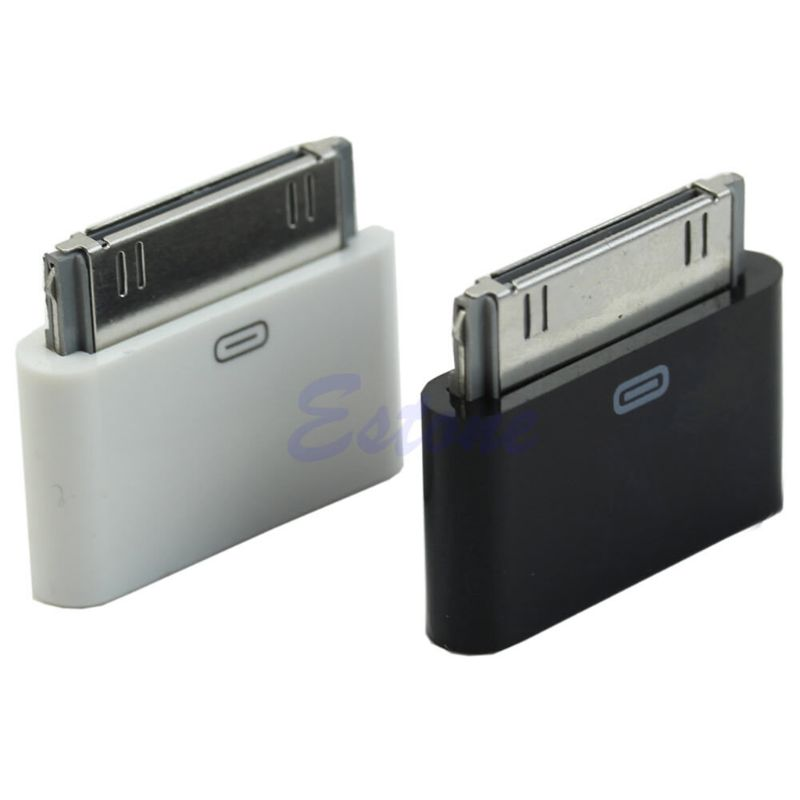 1Pc For IPhone 4 4S Micro USB Female To 30 Pin Male Data Charge Converter Adapter
