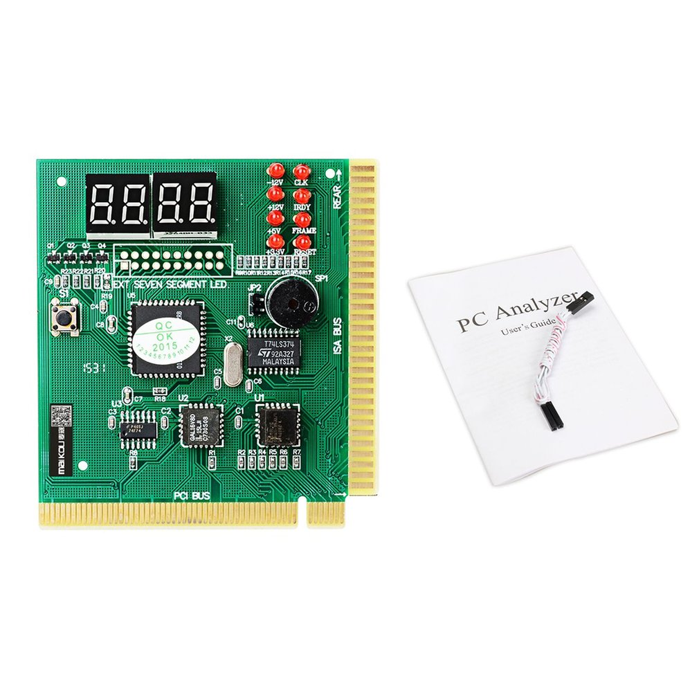 4 Digit Mainboard PCI PC Computer Motherboard Professional Diagnostic Analyzer Card Post Tester For Desktop PC
