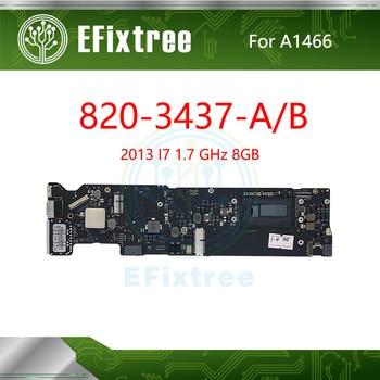 "Tested 820-3437-A 820-3437-B  A1466 Motherboard For MacBook Air 13"" A1466 Main Logic Board I7 1.7 GHz 8GB 2013 EMC 2632"