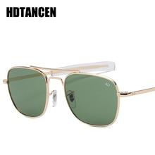 HDTANCEN Aviation AO Sunglasses Men luxury Brand Designer Su