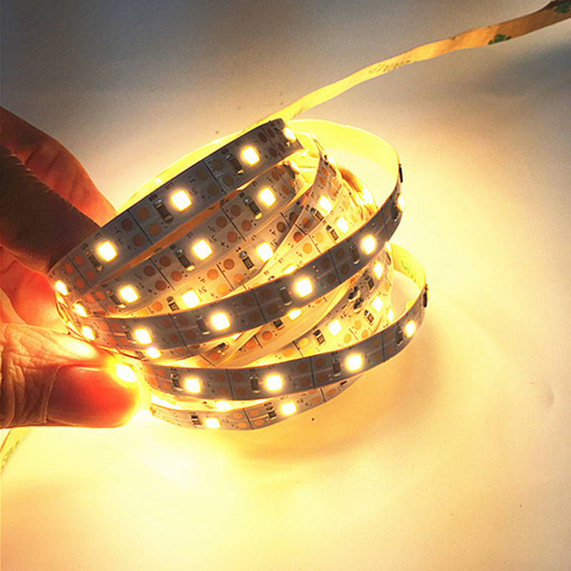 3AA Battery Power Led Strip Light Ambilight Lamp Tape For Closet Stairs  Cabinet 50cm 1M 2M 3M 4M 5M Warm White Cold White Strip