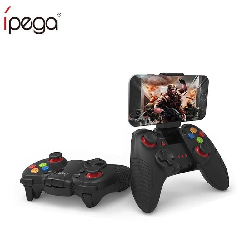 <font><b>iPega</b></font> PG-<font><b>9067</b></font> PG <font><b>9067</b></font> For iOS Android Smart TV Box Wireless Bluetooth Game Controller Joystick with Stretchable Phone Bracket image
