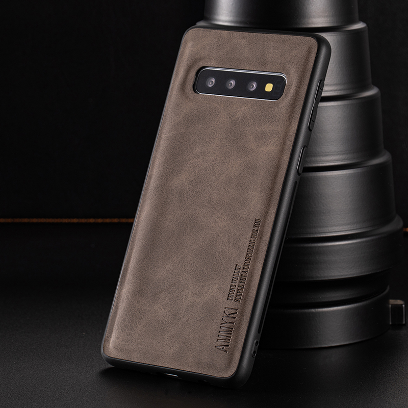 Soft TPU Silicone Cover For Galaxy S8 S8 Plus S9 S9 Plus Case Leather Case For Samsung S8 S8 Plus S9 S9 Plus Case