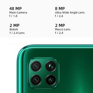 "HUAWEI P40 Lite смартфон глобальная версия 6 ГБ 128 48MP AI Quard камера 6,4 ""FHD экран Kirin 810 Octa Core 40 Вт быстрой зарядки"