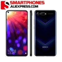 Honor-teléfono móvil ROM Global V20 LTE, 6 RAM, 128GB ROM, 6,4 pulgadas, Kirin 980, OctaCore, Android 9, carga rápida, 20 NFC