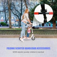 Durable Electric Scooter Folding Handle Grips Delicate Design Solid Universal Kids Child Handlebar for M365 Skateboard