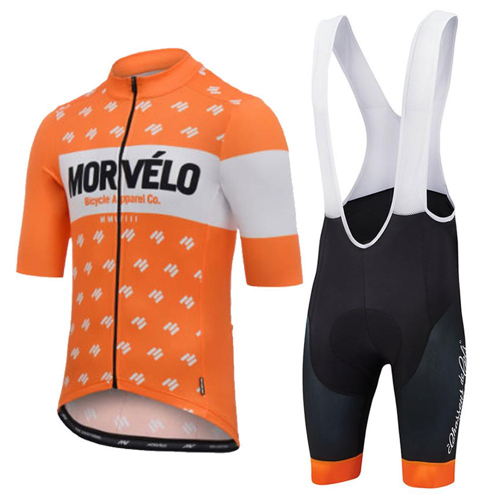 New Morvelo Ropa Ciclismo Summer Team Cycling Jerseys Radfahren Speciall Uci Personalized Custom Clothing