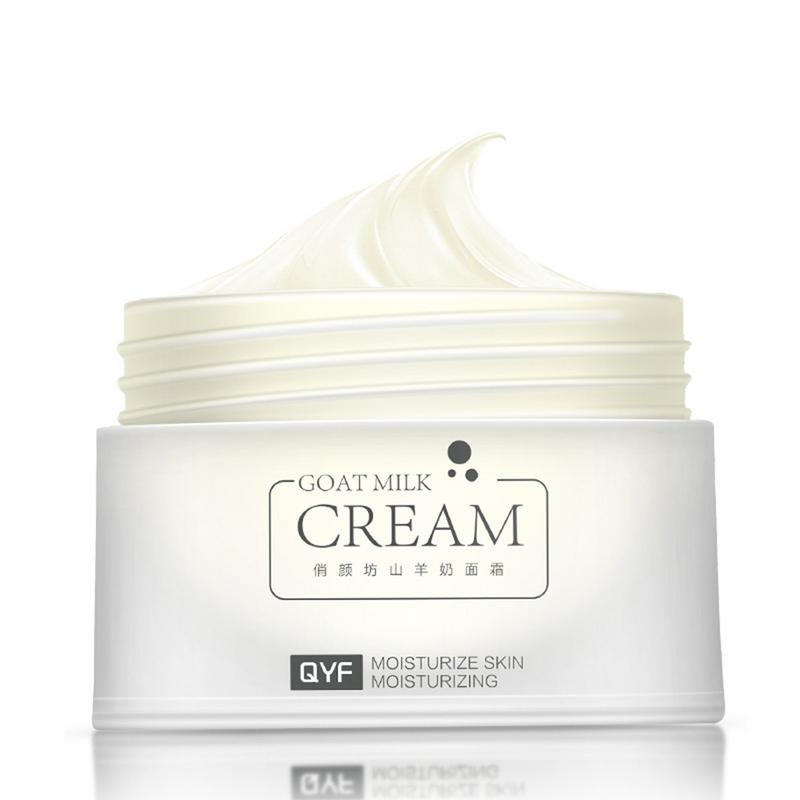 Moisturizing Goats Milk Nourishing Face Cream Vitamin E Anti Wrinkle Anti Aging Acne Treatment Whitening Cream Skin Care 30g