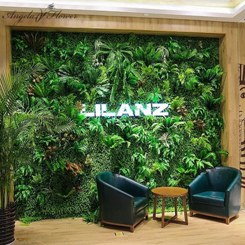 Luxury 3D Artificial Plant Wall Panels