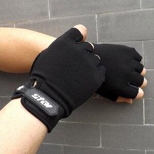 Men Tactical Winter Gloves Sports Fingerless Hand Gloves Winter Fashion Women Men Mittens Women Black Driving Gloves Winter 2019(China)