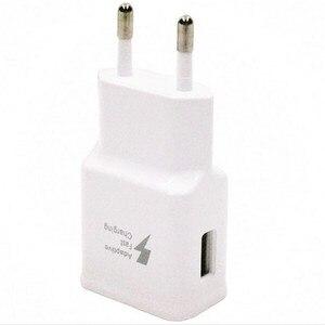Image 4 - 100 ピース/ロット適応急速充電器 5V 2A USB 壁の充電器電源アダプタ三星銀河注 4 S6 S7 のための iphone 5 6 無料 Dhl