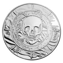 Pirate flag Commemorative Coin Collection Gift Souvenir Art Metal Antiqu