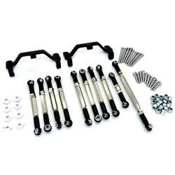 Металлический Тяговый стержень рулевой тяги для MN D90 D91 D96 D99S MN90 MS 1/12 RC автозапчасти