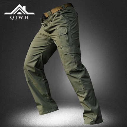 Summer Thin Section 511 Tactical Pants Men's Hiking Pants Trousers Rip Stop Outdoor Climbing Pants Secret Service Version Bib Ov