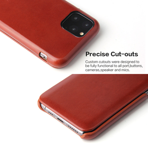Image 5 - 아이폰 11 12 프로 맥스 정품 가죽 플립 케이스 아이폰 6 6S 7 8 X Xs XR XS 최대 SE 2020 자석 커버