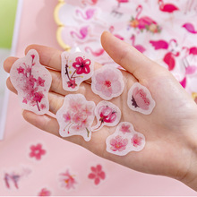 40pcs/box Plant Totem Memo Stickers Kawaii Planner Scrapbooking Stickers Stationery School Supplies Escolar Pack DIY Posted It цена