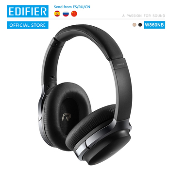 EDIFIER W860NB Bluetooth Headphones ANC Touch control Support NFC pairing and aptX audio decoding Smart Touch wireless earphone