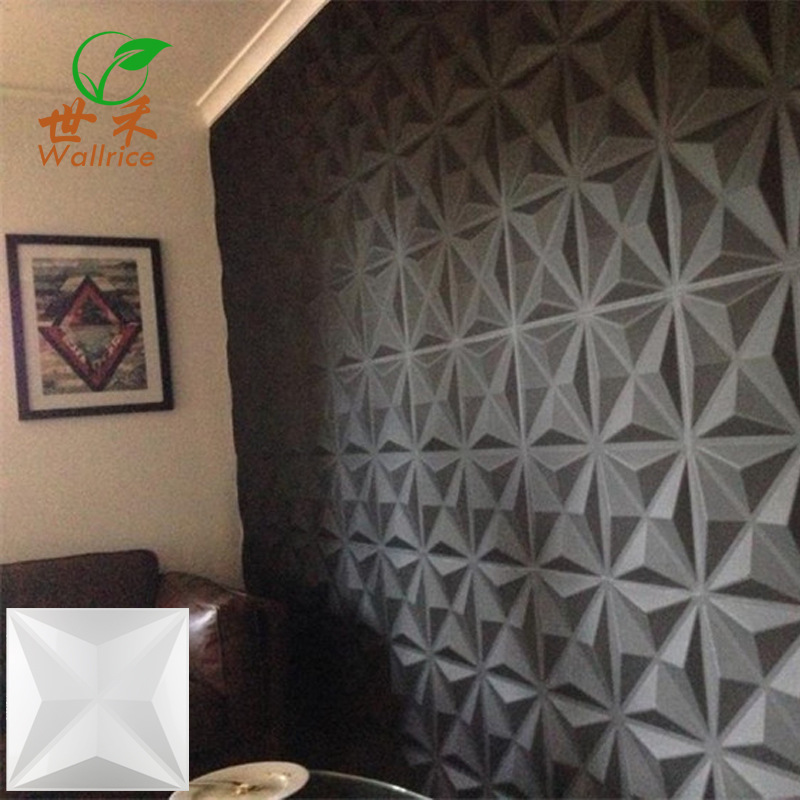 Three-dimensional Board Colorful Clothing TV Background Wallpaper 3D Board Stereo Wall 3D Wall Plate Relief Storefront Decoratio