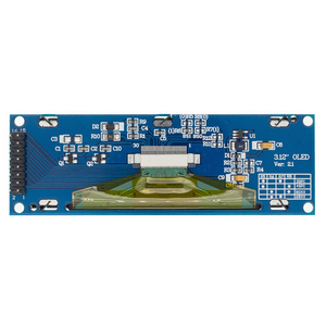 "Image 3 - 1 peça real oled display 3.12 ""256*64 25664 pontos display gráfico módulo lcd tela lcm ssd1322 controlador suporte spi"