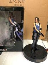 32cm biohazard re: 3 jill valentine pvc estátua coleção brinquedos presentes