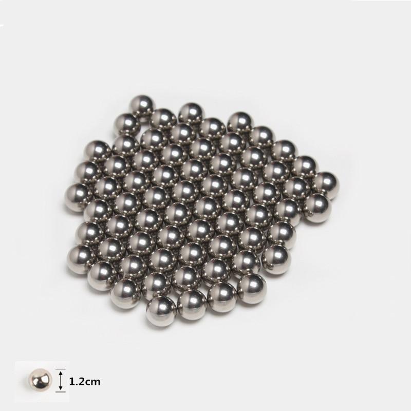3D DIY Magnetic Building Blocks Sets Magnet Bars Metal Balls Magnetic Construction Set Educational Toys For Children Gift