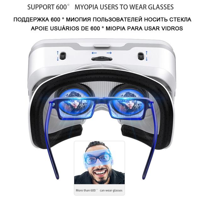 VR Shinecon 10.0 Helmet 3D Glasses Virtual Reality Casque For Smartphone Smart Phone Goggles Headset Viar Video Game Binoculars 2