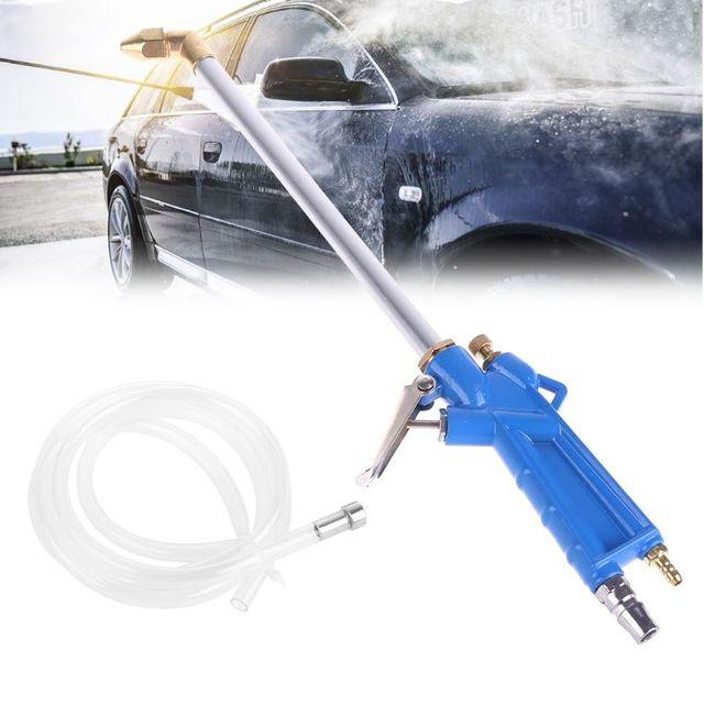 Hoge Kwaliteit 1 Set Auto Luchtdruk Motor Magazijn Cleaner Wassen Gun Washer Spuitbus Dust Tool Nieuwe