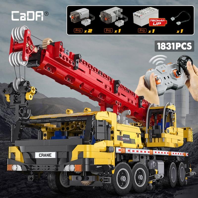 Cada C61081W Remote Control Engineering Vehicle Truck