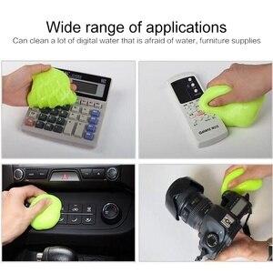Image 5 - Przydatny żel oczyszczający do domu środek do mycia samochodów miękki klej magiczne czyszczenie narzędzie Mud Remover Gap Outlet Dashboard klawiatura odkurzacz