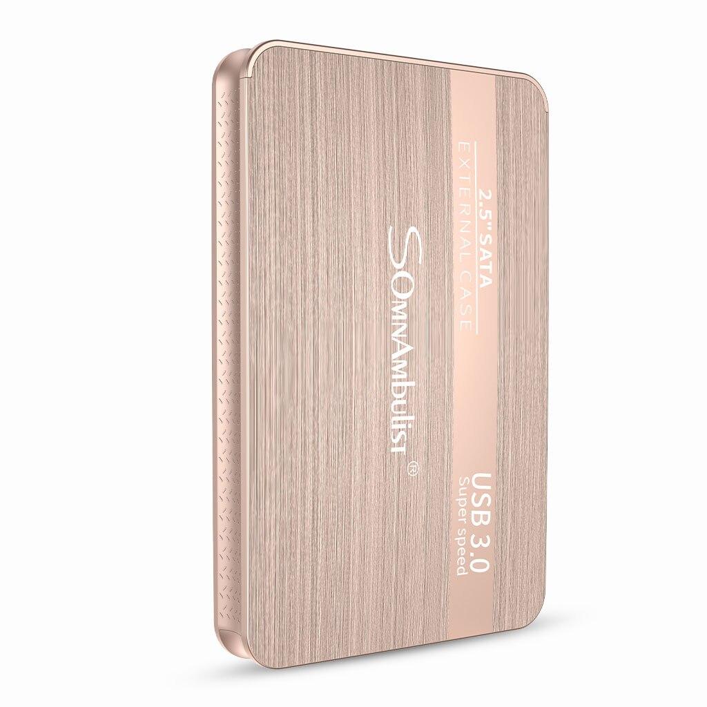 SOMNAMBULIST Внешние жесткие диски 1 ТБ жесткий диск 1 ТБ disco duro externo запоминающие устройства ноутбук Настольный hd внешний 500gb HDD