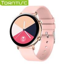 Torntisc EKG Smart Uhr Bluetooth Anruf 2021 Männer Frauen IP68 Wasserdichte Smartwatch Herz Rate Monitor Für Samsung galaxy Aktive 2