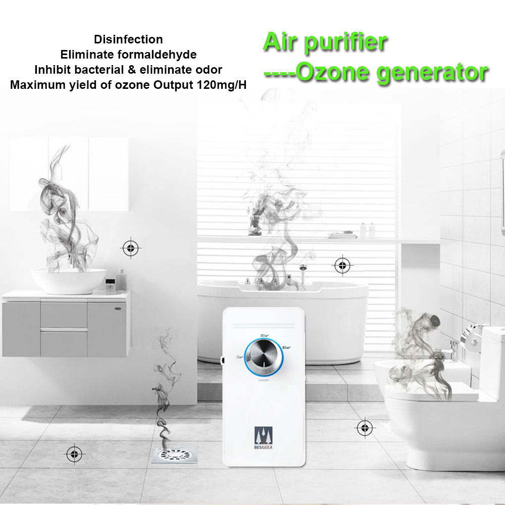 EU 220V Air Purifier-Ozone Machine,Anti-aldehyde Function And Anti-bacterial Function, With 2 Working Modes