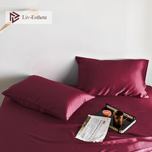 Liv-Esthete Women Luxury Noble 100% Silk Multicolor Pillowcase Nature 25 Momme Silk Healthy Standard Pillow Case Free Shipping