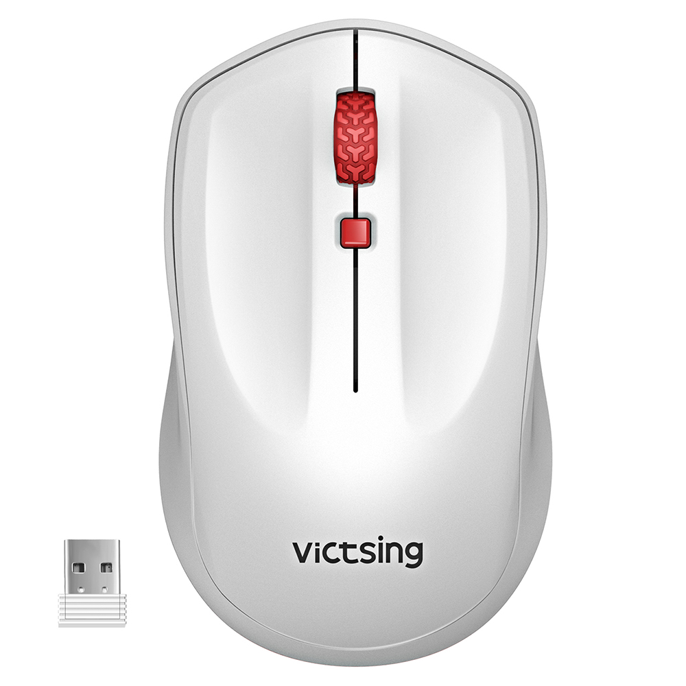 With Nano USB Receiver Mac and Laptop High Precision Wireless mouse for PC