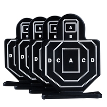 Hunting-Training-Target Rifle Airsoft Metal Steel Military Tactical 4pcs/Pack