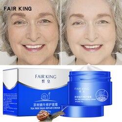 Snail Face Cream Collagen Anti-Wrinkle Whitening Facial Cream Hyaluronic Acid Moisturizing Anti-aging Nourishing Serum Skin Care