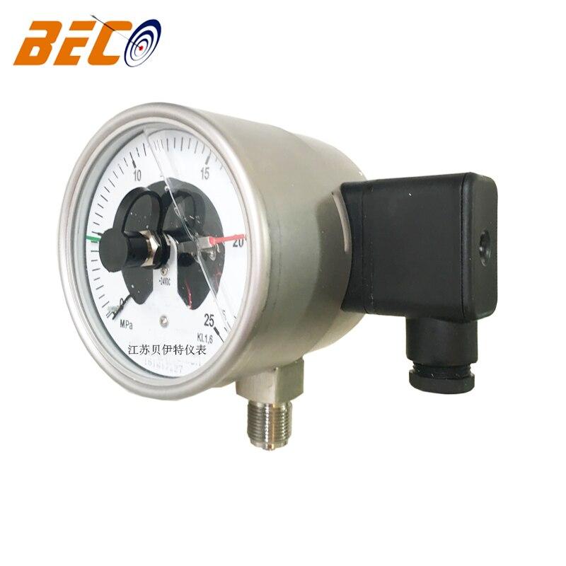 elétrico medidor pressão óleo cheio sísmica resistência