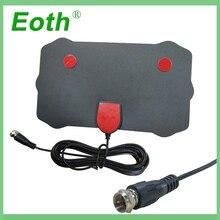 Cable Fox-Antenna VHF TV Surf Indoor Signal-Receiver HDTV Radius DVB-T2 UHF