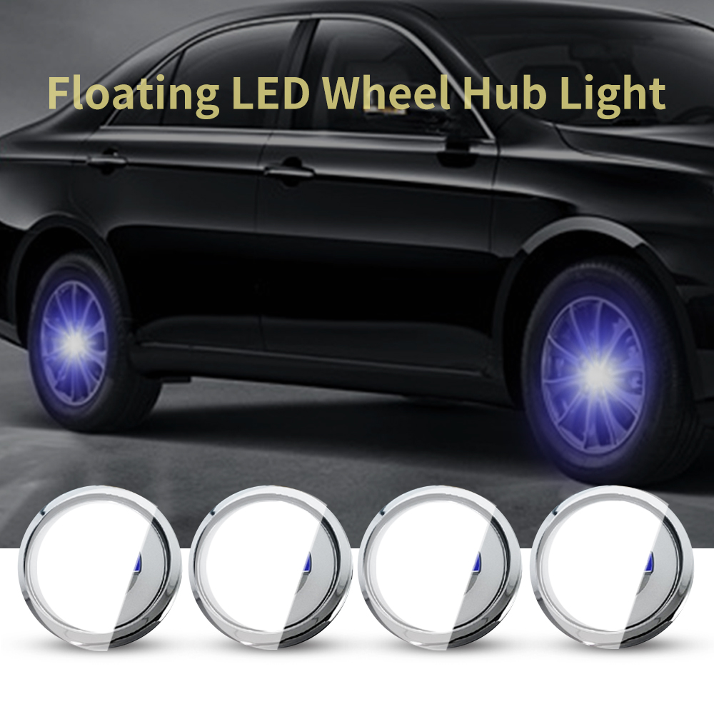 For VOLVO 63mm Hub Light <font><b>Car</b></font> Floating Illumination Energy <font><b>Wheel</b></font> Caps LED Light <font><b>Wheel</b></font> <font><b>Center</b></font> Cap <font><b>Center</b></font> <font><b>Cover</b></font> Lighting Cap Auto image
