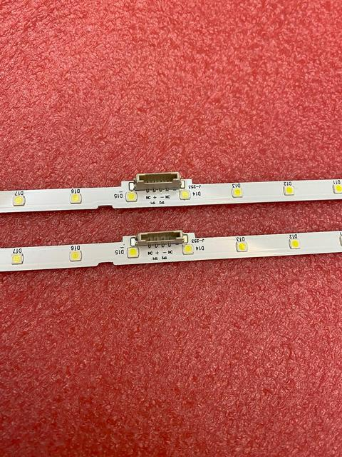 Striscia di retroilluminazione a LED (2) per Samsung 43NU7100 UE43NU7100 UN43NU7100 UE43NU7100U AOT_43_NU7100F UE43NU7120U UE43NU7170U BN96 45954A