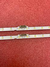 Tira de retroiluminación LED (2) para Samsung 43NU7100 UE43NU7100 UN43NU7100 UE43NU7100U AOT_43_NU7100F UE43NU7120U UE43NU7170U BN96 45954A