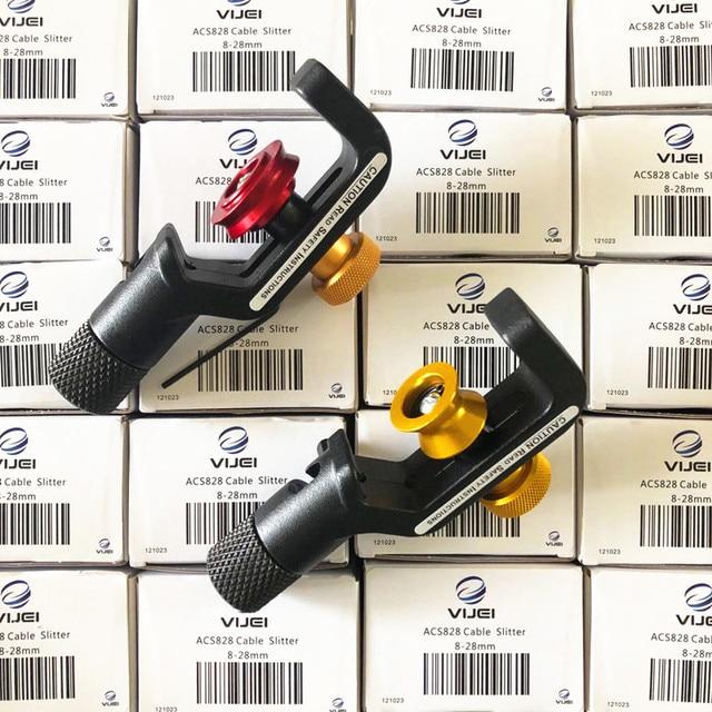 Free Shipping Original VIJEI ACS410 ACS828 ACS2 ACS 2 Fiber Optic Armored Cable Slitter 4mm 10MM 8 28MM