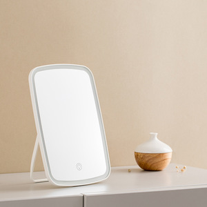 Image 4 - Youpin ジョーダン & ジュディ mijia ミラースマートメイク化粧鏡ポータブル折りたたみライトデスクトップテーブルはミラー
